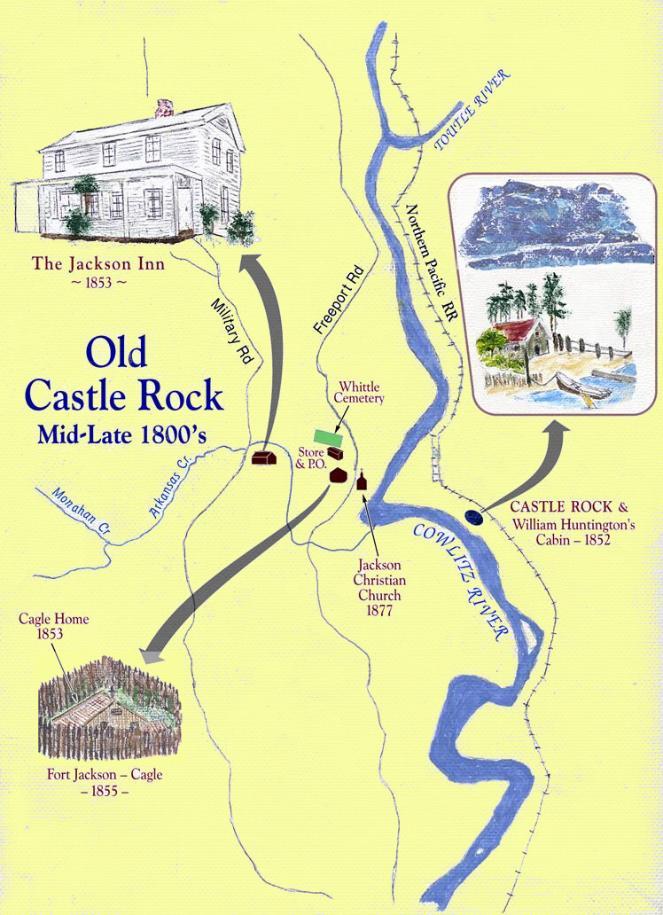 Pioneer History Of Castle Rock Washington
